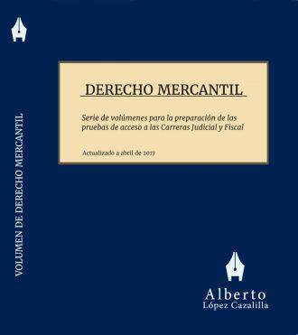 Portada del tomo Derecho Mercantil para Oposiciones Jueces y Fiscales