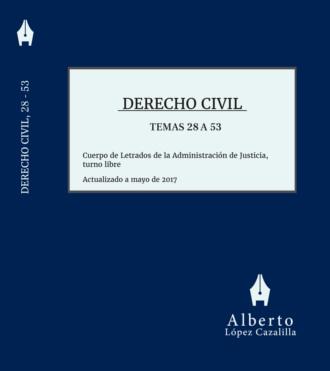 Portada del libro de Derecho Civil, tomo segundo, temas 28 a 53, para Letrados de la Administración de Justicia