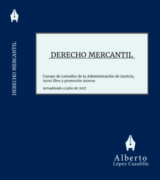 Portada del libro de Derecho Mercantil para Letrados de la Administración de Justicia