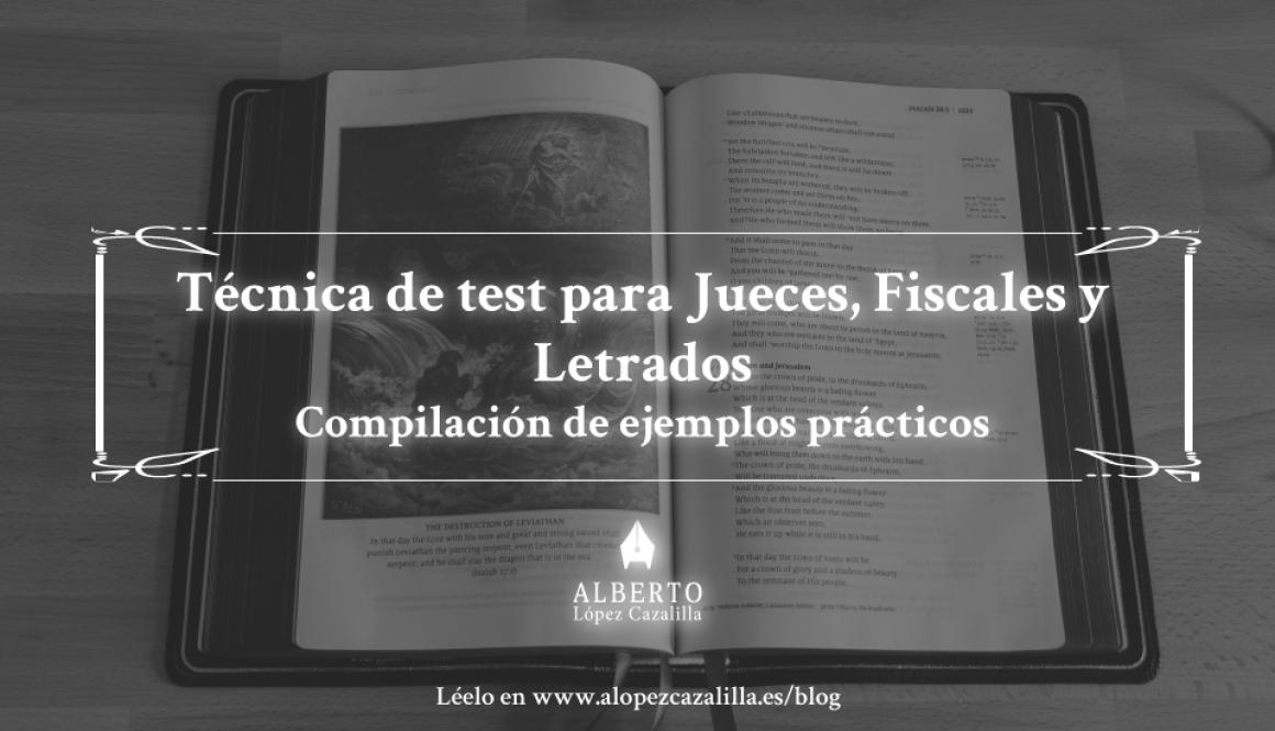 compilación de casos prácticos examen jueces fiscales