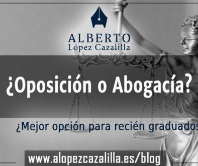 Oposición o abogacía WP+FB